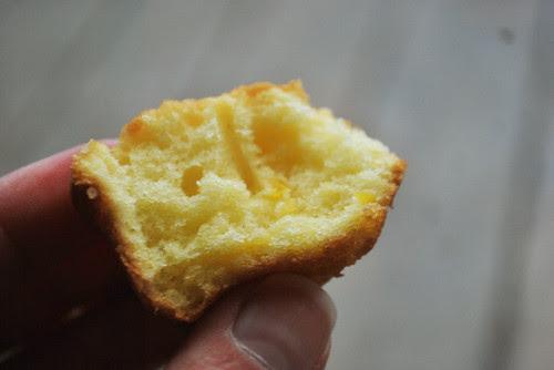 citrus mini muffin