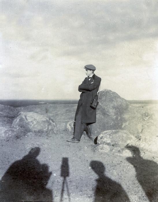 El fotógrafo retratado en junio de 1905. Fotógrafo anónimo. Colección Luis Alba. Ayuntamiento de Toledo