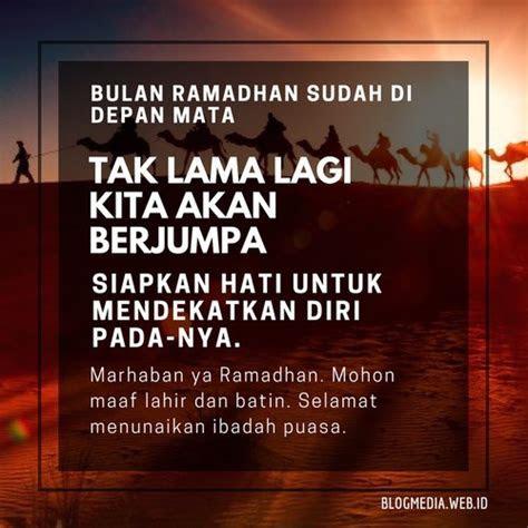 ucapan menyambut bulan suci ramadhan   tua