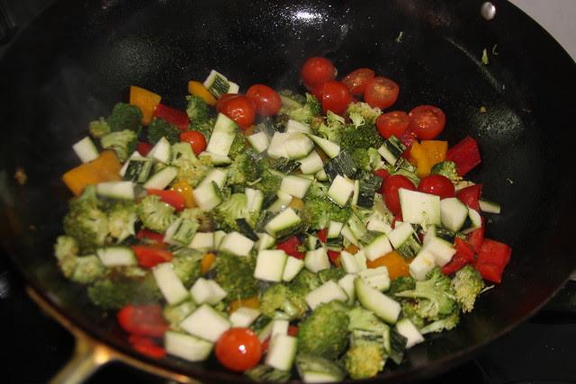 Pappardelle en Salsa Multicolor   (39)
