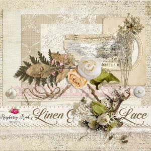 Linen And Lace Freebie