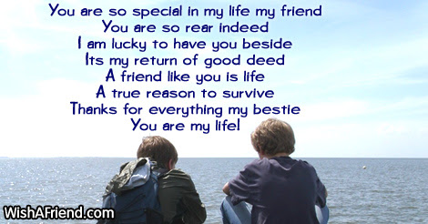 You Are So Special In My Cute Message For Friends
