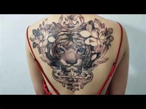 hinh xam  ho tiger full  tattoo micae tattoo