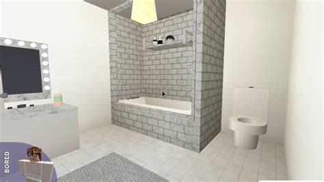 bathroom ideas  bloxburg   interior equipment