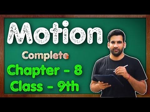 C - 8, Motion NCERT Solution