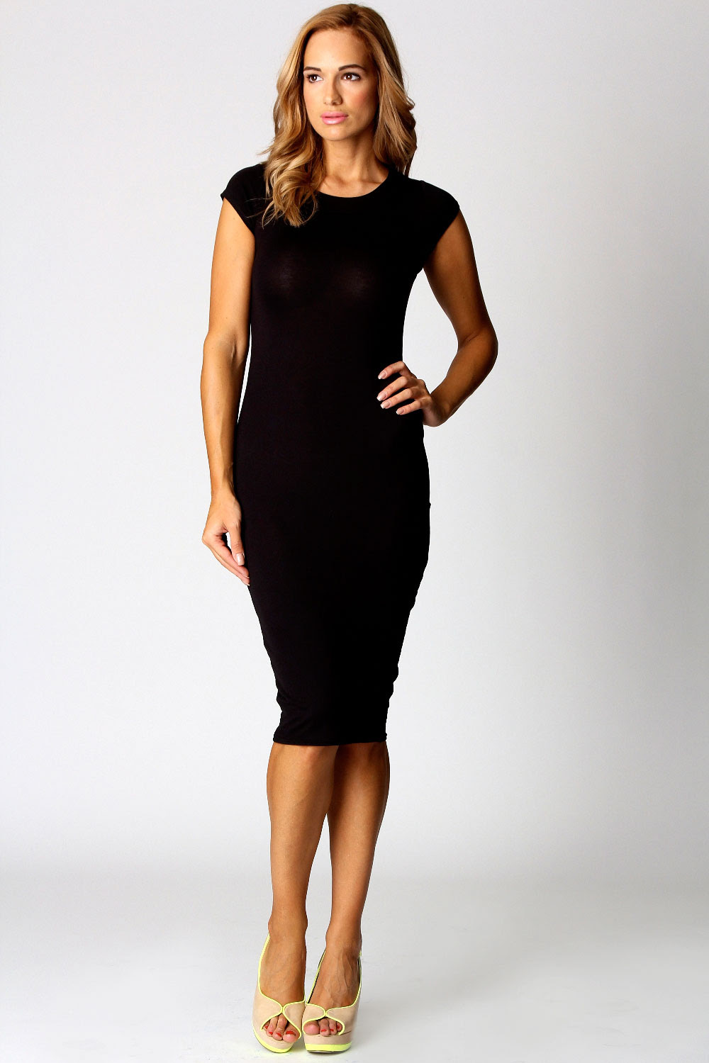 For wedding a midi dress bodycon what is with long