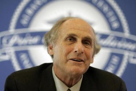 Steinman, durante una conferencia de prensa. | Afp