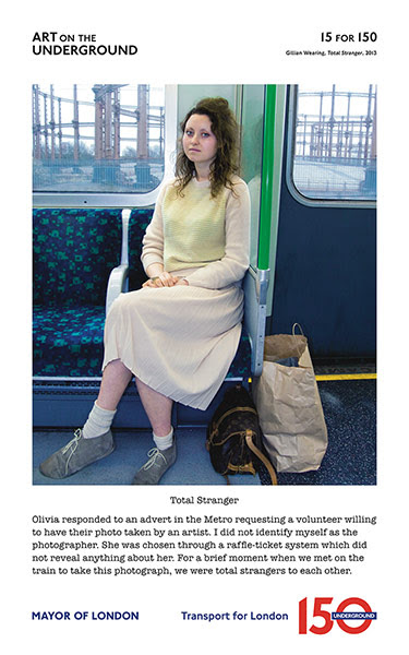 London Underground poster: Gillian Wearing