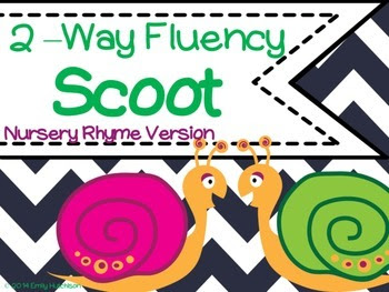 http://www.teacherspayteachers.com/Product/2-Way-Fluency-Scoot-Nursery-Rhyme-Version-1250851