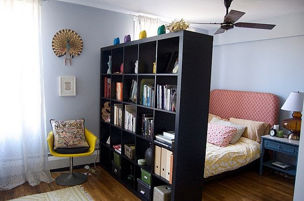 How to divide a room into two rooms home interior design - How to divide a living room into a bedroom ...