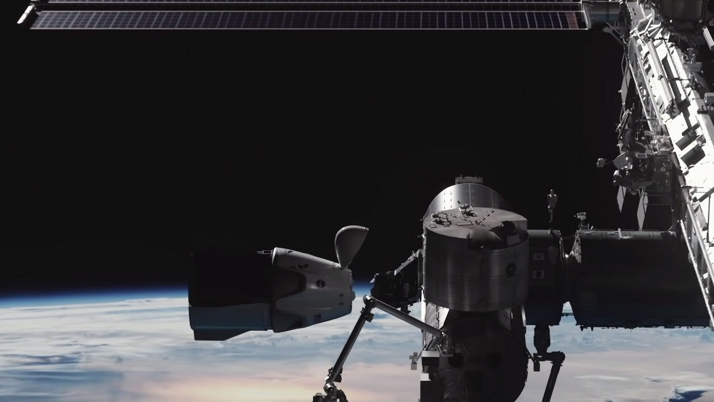 SpaceX's 1st Crew Dragon with astronauts to dock at space station today. Here's how to watch.