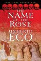 book cover of The Name of the Rose by Umberto Eco