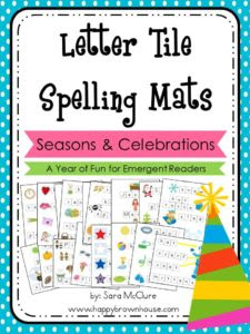 Letter Tile Spelling Mats Bundle (Seasons-Holidays) (1)