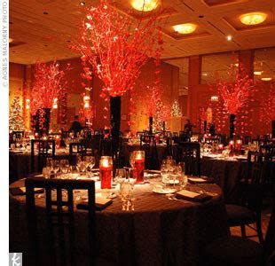 Red Wedding Decorations Designs
