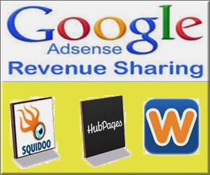 AdSense Revenue Sharing Sites