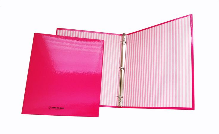 Set of 2 - 3 Ring Binder, 1 inch ring - Daily planners Organizers ...