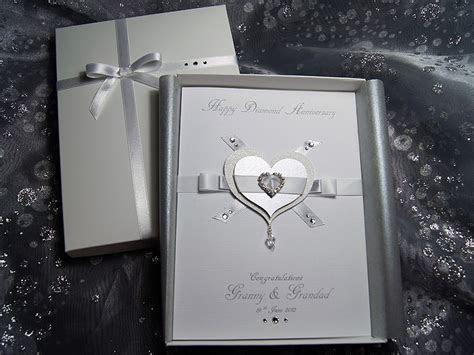 Everlasting   Luxury Handmade Anniversary Card