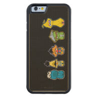 Zombie Sesame Street Characters Carved® Maple iPhone 6 Bumper