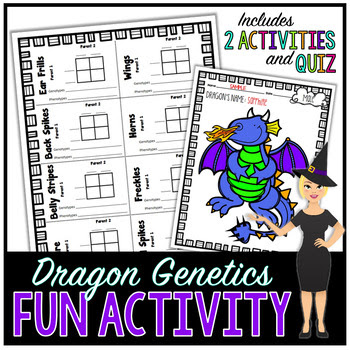 Dragon Genetics - Fun Review Activity