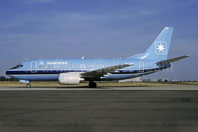 Maersk Air (Denmark) Boeing 737-5L9 OY-APA (msn 28083) CDG (Christian Volpati). Image: 901592.