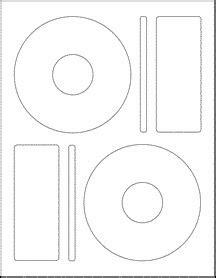 memorex cd label template word