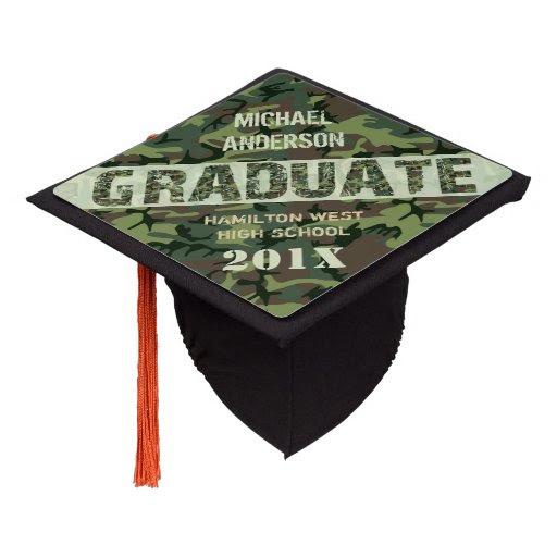 camouflage_camo_graduation_personalized_name_class_graduation_cap_topper re6c7daea94fa43a88931133269ba5ca6_z55qp_512