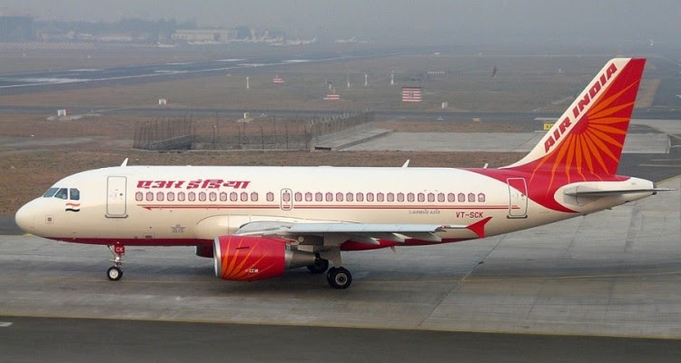 Air India A319 VT-SCK