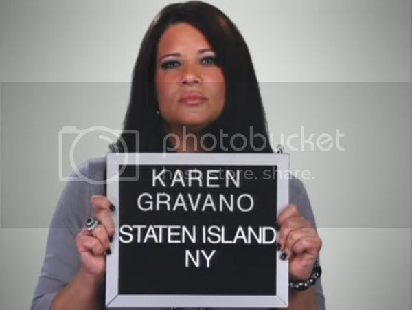 Karen Gravano of VH1's Mob Wives