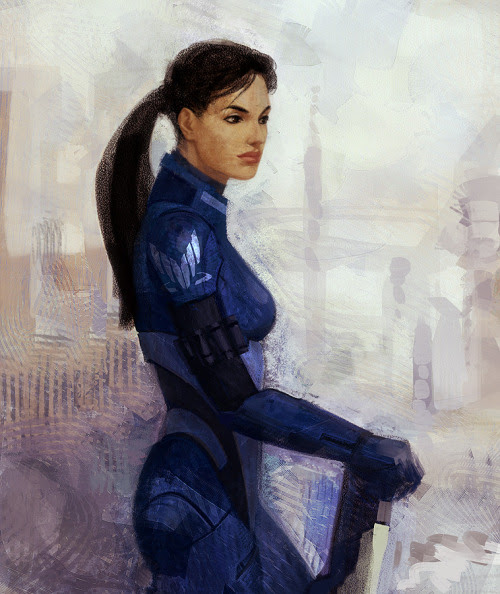 Well if Ashley Williams looked this hot on Mass Effect I wouldn 39t have