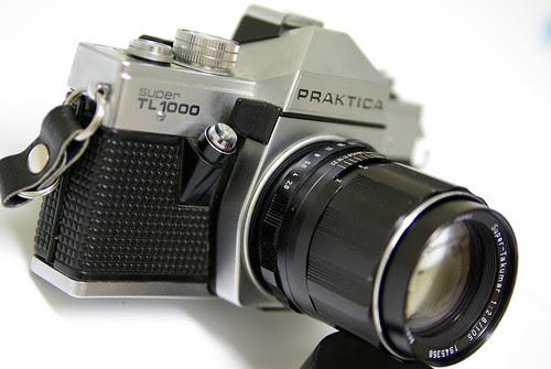 Prakitca Super TL1000 & Domiplan 50mm f/2.8