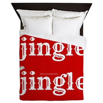Santa Jingle Queen Duvet