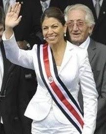 En la imagen Laura Chinchilla, presidenta de Costa Rica.