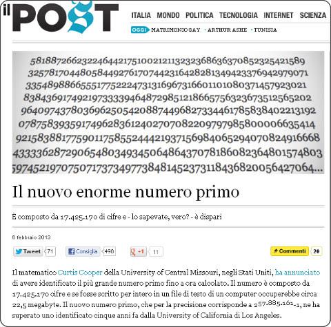 http://www.ilpost.it/2013/02/06/numero-primo-piu-grande-conosciuto/
