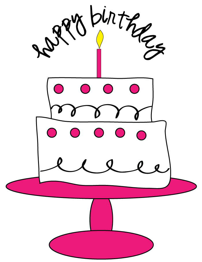 Birthday Cake Cliparts Stock Vector And Royalty Free