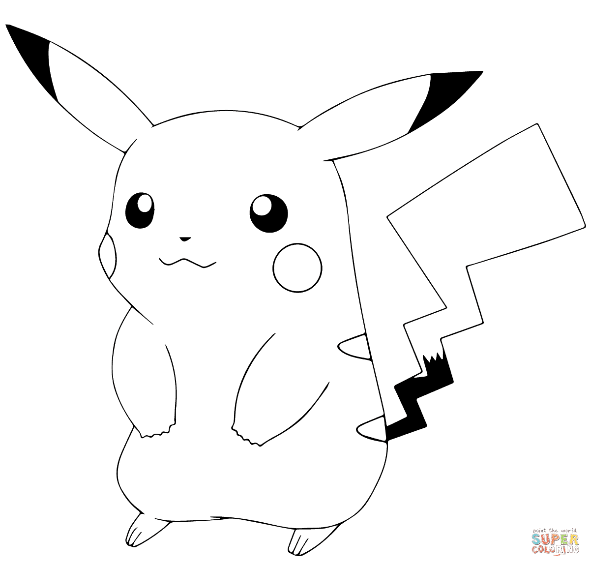 9900 Top Coloring Pages For Pikachu Download Free Images