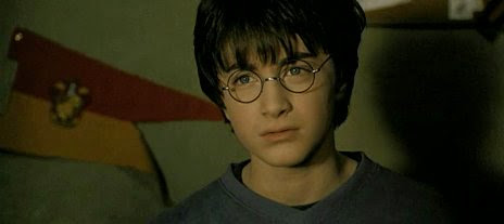 Harry in The Chamber of Secret