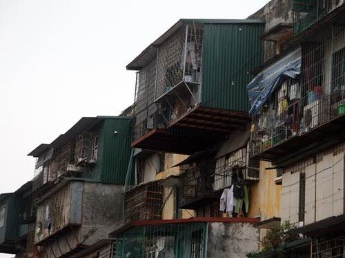 nhà tập thể cũ, di dời khẩn cấp, chung cư có nguy cơ đổ sập, khu tập thể cũ thành công