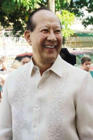 """THE LATE Tarlac Rep. Enrique """"Henry"""" Cojuangco INQUIRER PHOTO"""