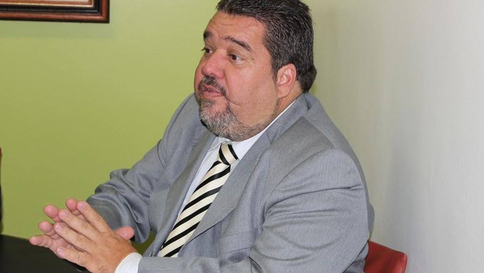 Gustavo Feijó, vice-presidente da Confederação Brasileira de Futebol (CBF) (Foto: Caio Lorena/GloboEsporte.com)