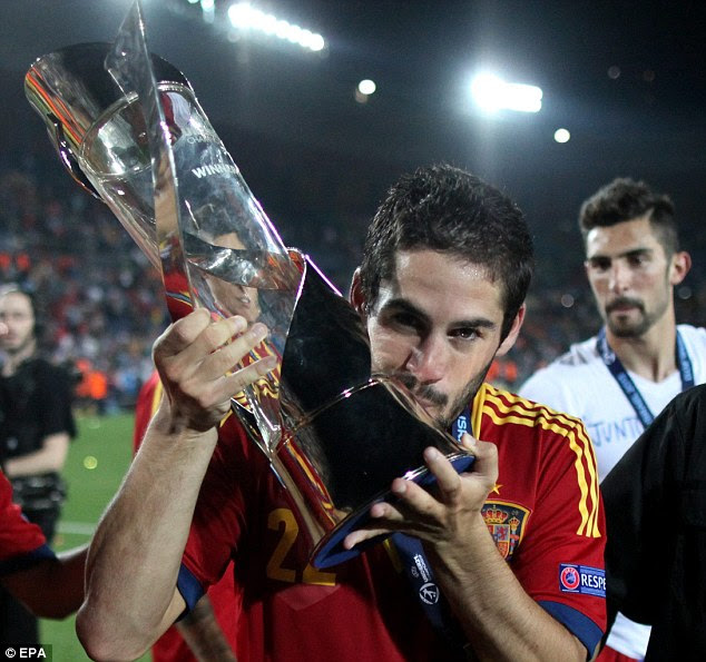 Champion: Isco starred in Spain's victorious run to winning the U21 European Championships
