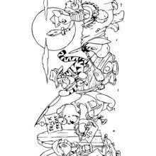 Dibujos Para Colorear Winnie Pooh Y Sus Amigos Para Halloween Es
