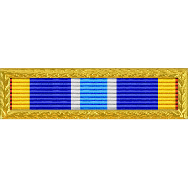 Air Force Expeditionary Ribbon With Gold Frame Usamm