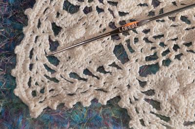 Grandma's size LOREAL crochet hook