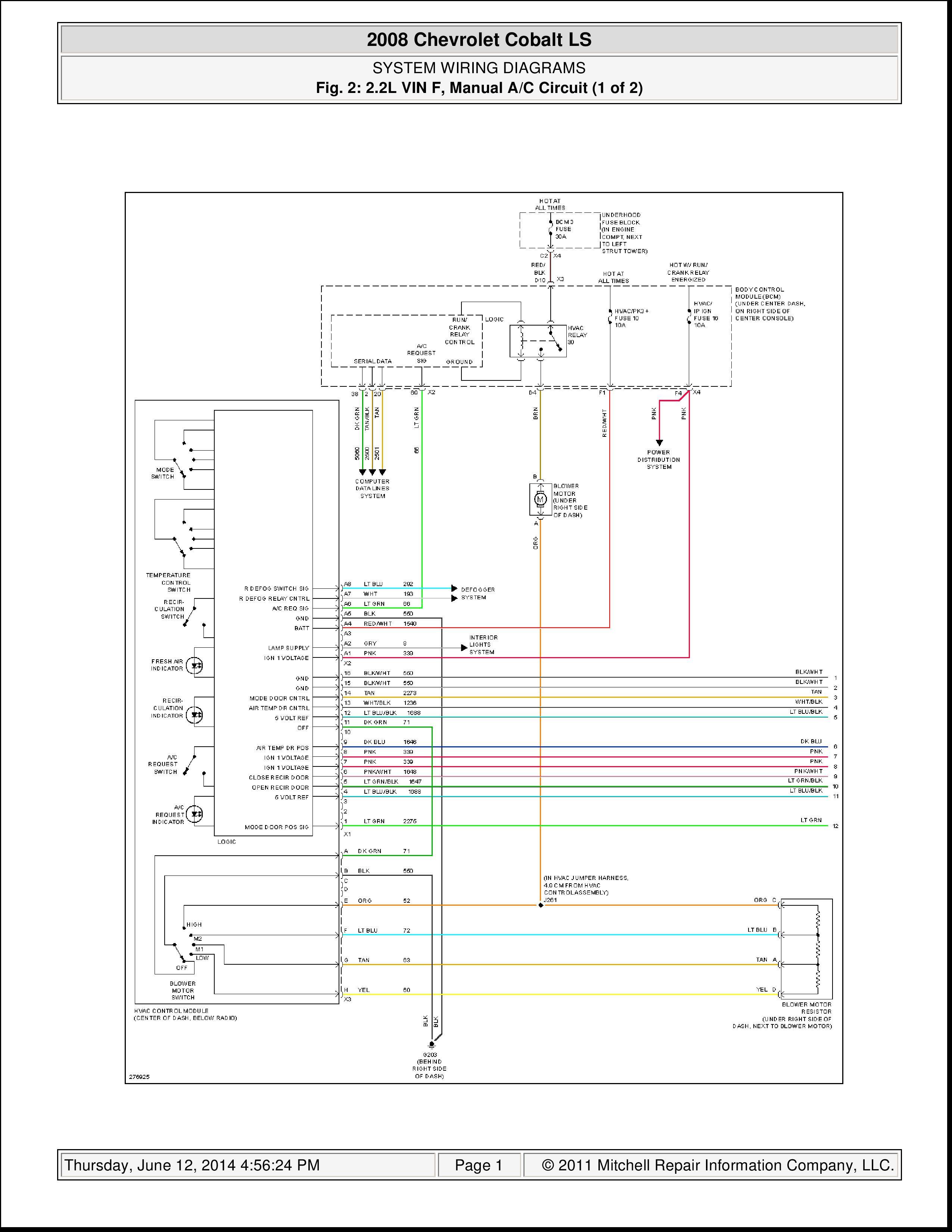 Chevy Cobalt Blower Motor Wiring Diagram 2005 Neon Fuel Filter Diagramford Yenpancane Jeanjaures37 Fr