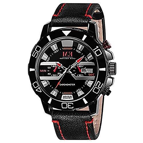 KONXIDO Men's Military Sport Wrist Watch Quartz