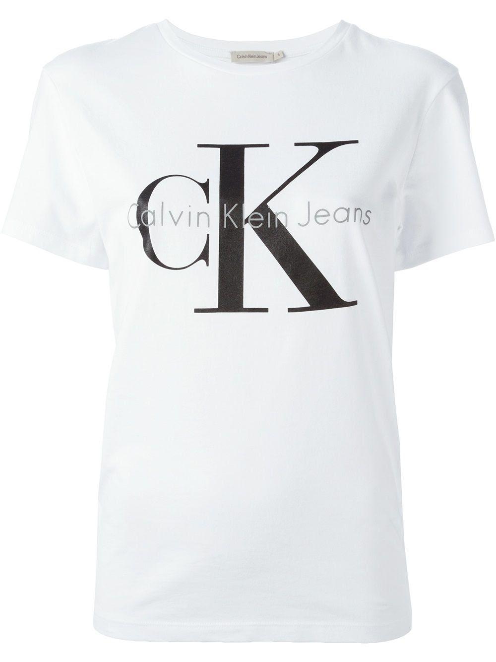 Calvin Klein Jeans classic logo print T-shirt