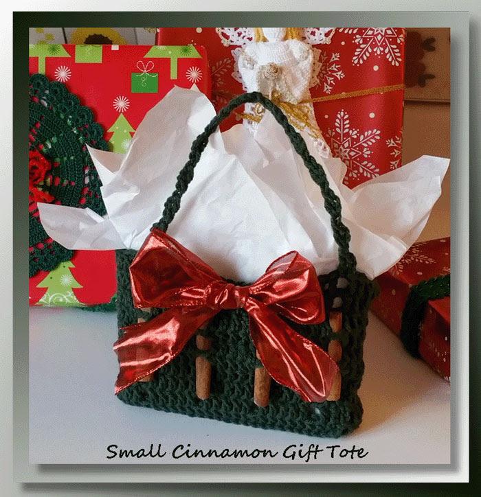 Small Cinnamon Gift Tote