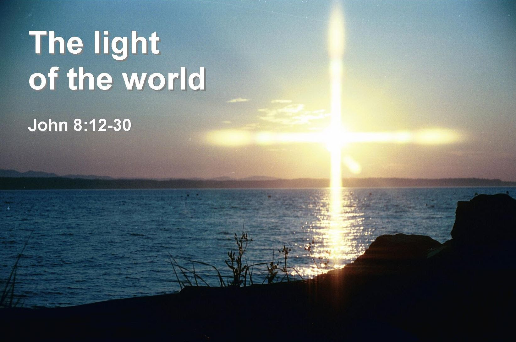 The Light Of The World Bible Quote Quotespicturescom