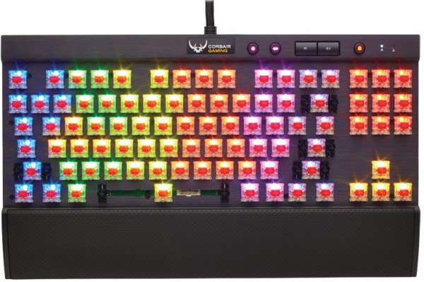 Corsair Gaming K65 RGB 600x399 Corsair lanza sus teclados K95 RGB, K70 RGB y K65 RGB