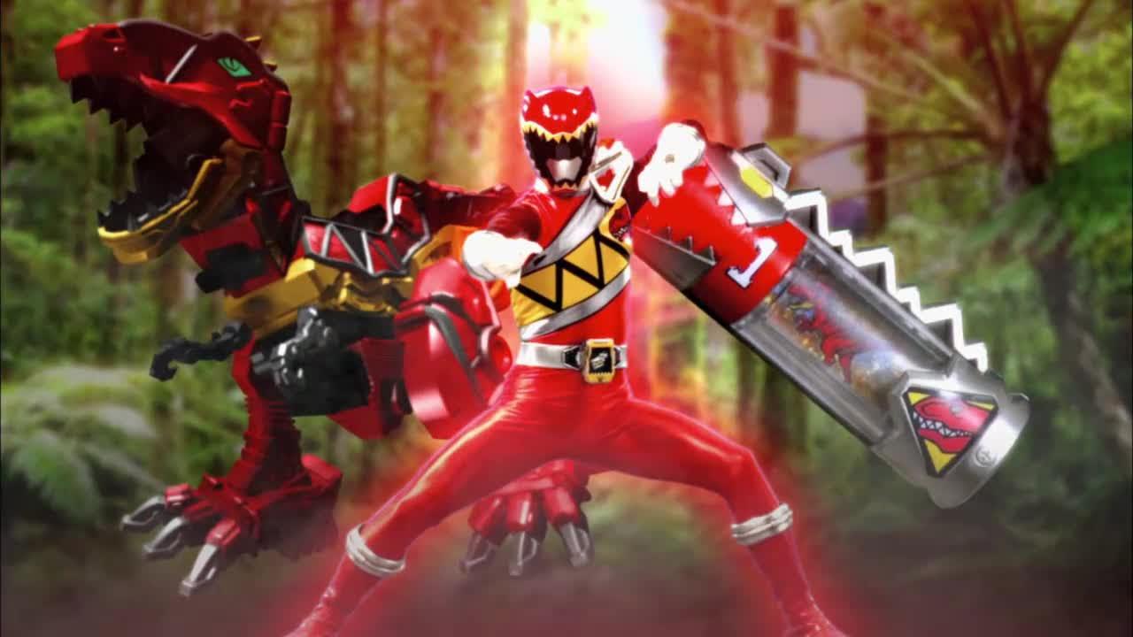 Power Rangers Dino Coloriage Héros